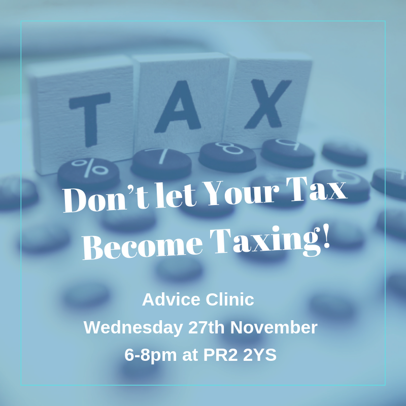 Dont let your tax become taxing WNJ Advice Clinic