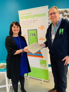Helen Livesey and Mark Willet - Penwortham Job Club